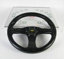 Personal Blitz 330mm Steering Wheel - 12.99 inch Black Polyurethane Black Spokes