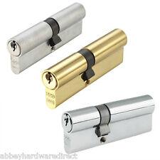 CILINDRO CILINDRO SERRATURA euro per le porte UPVC 5 PIN-ANTI Pick-ANTI Drill