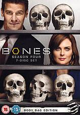BONES Complete Series 4 DVD Box Set All Episode Fourth 4th Season Original UK R2