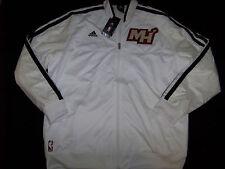 Adidas Men's Miami Heat On Court Jacket NWT