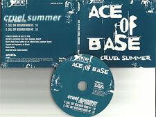 ACE OF BASE Cruel Summer w/ HOOKS PROMO Radio DJ CD Single 1998 USA ASCD3501
