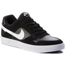 Nike SB Delta Force Vulc Sneaker Baskets Hommes Cuir Chaussures De Loisirs Noir