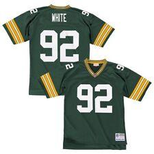 Reggie White 1996 Greenbay Packers Mitchell & Ness Home Green Legacy Jersey Men