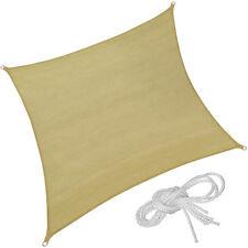 Voile d'ombrage protection UV solaire toile tendue parasol carrée