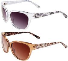 Bebe Foxy Women's Translucent Cat-Eye Sunglasses w/ Gradient Lens - BB7079