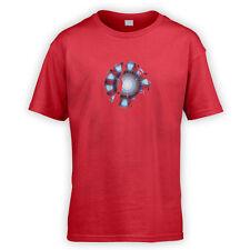 Arc Reactor Kids T-Shirt -x10 Colours- Movie Fancy Dress Gift Fan Geek Comic