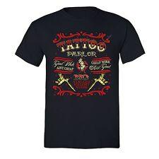 Tattoo Parlor T-shirt Body Art Good Work Bargains Bullsh*t Artist Inked Tshirt