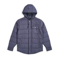 Brixton - Cass Hooded Jacket - Steel Blue