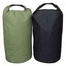 50L IMPERMEABILE trasporto drysack-VERDE NERO colore opzione 50 LITRI Dry Bag