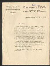 """BILLANCOURT (92) USINE de ROULEMENTS à BILLES & ROULEAUX """"Ets. ERDOS"""" en 1950"""