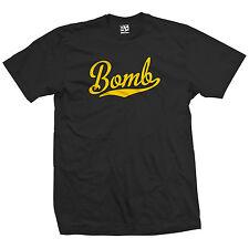Bomb Script Tail T-Shirt - Classic Fleetline Car Lowrider - All Sizes & Colors