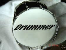 Kit de batería baterista Hebilla de cinturón banda de rock and roll Jazz.