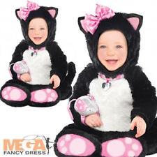 de43e1cc93 Carino Gatto Kitty 6-18 mesi Fantasia Abito Childs Costume Di Halloween  Ragazze Animale Nuovo