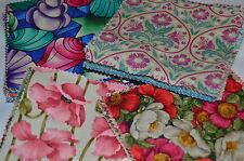 """Algodón Patchwork fabric-100% Algodón,5"""" por 5"""",42 plazas,14 patrones, artesanía,"""
