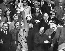RON YEATS Signed 10x8 Photo LIVERPOOL & SCOTLAND Legend COA