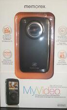 Memorex My Video High Def Camcorder Mcc225 Black Nib