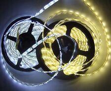 5M Band Strip Streifen Leiste 300 LED SMD 3528 IP 65 Wasserfest warmweiß weiß