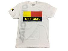 Official 1D Black Flag White T-Shirt