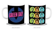 GREEN DAY TASSE - UNO DOS TRE! Punk Basketcase Dookie Revolution Radio Boulevard