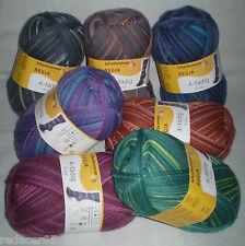 5,90 €/100 GR regia Chaussettes Laine 4 fois Mood Color Color 4-fädig motif nécessaire