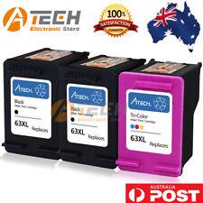 Black Color Ink for HP 63XL Deskjet 1110 2130 2131 3630 3632 Officejet 3830 4650
