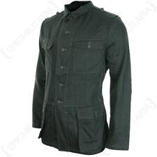 German Army été HBT Drill VESTE TOUTES TAILLES WW2 REPRO Reed vert COMBAT