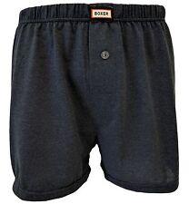 Boxer Shorts 100% Baumwolle für Männer 6er Pack Herren Boxers Unterhose mit Bein