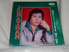 Jonathan Que Tristeza Me Da Tejano Signed Toca Se'ld LP