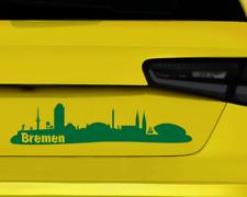 Stadt Bremen Aufklebercollage  11 Farben 2 Größen