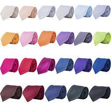 20x Cravate Classique Large korntex 23 couleurs Business mariage