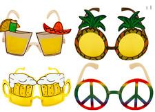 Disfraz Novedad Gafas de sol Varios Diseños Hawaiian verano CERVEZA PIÑA