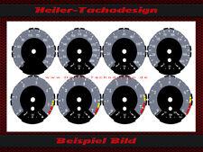 Tachoscheiben BMW E81 E82 E84 E87 E88 1er M Design M1 Tacho