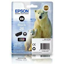 C13T26114010 Photo Black Epson 26 Polar Bear Series Genuine Ink Cartridge T2611