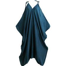 Women's Boho Chic Solid Color Spaghetti Strap Loose Fit HAREM Jumpsuit JUMPER
