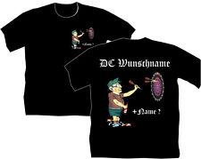 Dartshirt Dart T Shirt Hemden Bekleidung Wunschname alter Mann Geburtstag  92