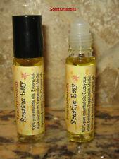 BREATHE EASY AGAIN ESSENTIAL OIL 1/3 OZ ROLLON 100% PURE PEPPERMINT MYRTLE