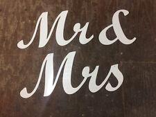 White PVC Plastic Joined Script Letters Various Sizes Weddings Birthdays Rooms