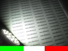 10x 120° 24smd GU10 LAMPADINA FARETTO LED FREDDO 220v