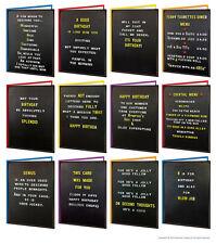Brainbox Candy Board Birthday greeting cards funny rude  joke humorous cheeky