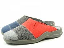 Rohde 2302 Vaasa-D Schuhe Damen Hausschuhe Pantoffeln Filz Weite G