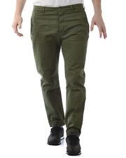 Pantaloni Daniele Alessandrini Jeans Trouser -50% Uomo Verde PJ5564L1013731-33