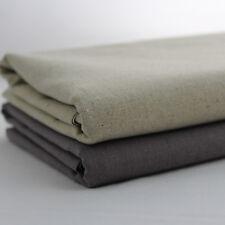 """Linen Fabric 55"""" Extra Wide Natural Vintage Rustic per metre CV"""