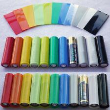 Single AA / 14500 Batteries PVC Heatshrink Heat Shrink Wraps Multi Colour