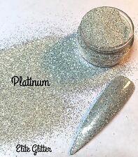 New Nail Art Festival Body Glitter Silver Platinum Wedding Nails 008 5g 10g