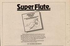 """1974 JEREMY STEIG """"MONIUM"""" ALBUM PROMO AD"""