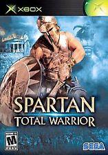 SPARTAN - TOTAL WARRIOR rare XBOX Game Medieval Roman Battles Complete vg