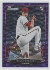 2013 Bowman Purple Ice #216 Tyler Skaggs Arizona Diamondbacks Baseball Card