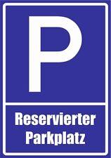 paf0084 Réservés Place de parking PVC,Aludibond,Autocollant,