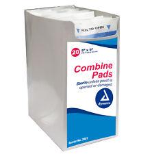 "Combine Pads Abdominal ABD Pads Sterile 5"" x 9"" Gauze Dressing"