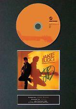 JAKE BUGG Shangri La Signed CD Mounted Autograph Photo Prints A4 47